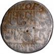 Silver Rupee Coin of Shahjahan.