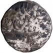 Silver Rupee Coin of Shah Alam Bahadur of Surat Mint.