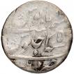 Silver Rupee Coin of Aurangzeb of Patna Mint.