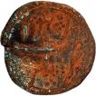 Copper Paisa Coin of Nagar Mint of Tipu Sultan of Mysore Kingdom.