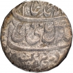 Silver One Rupee Coin of Bareli Mint of Rohilkhand Kingdom.