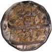 Silver Rupee Coin of Aurangzeb of Shajahanabad Dar-ul-Khilafa Mint.