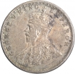Silver One Rupee Coin of King George V of Bombay Mint of 1913.