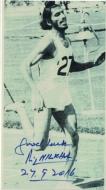 Milkha Singh Autograph on Photo of  206.