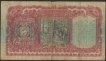 Burma Five Rupees Banknote of KG VI Signed by J B Taylor.