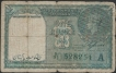 Pakistan Issue One Rupee Note of KG VI Signed by C E Jones.