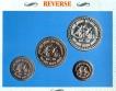 UNC Set Quit India Movement set of 4 Coins of 1993.