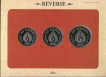 UNC Set of India Tourism Year Set of 3 Coins of 1991.