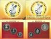 UNC Set of Sant Tukaram of Kolkata Mint of 2002.
