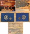 UNC Set of Mahatma Basaveshwara of Mumbai Mint of 2006.