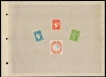 India Postage Stamp Centenary Souvenir Album 1854-1954.