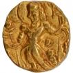 Gold Dinar Coin of Chandragupta II of Gupta Dynasty of Arche