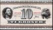 Ten Kroner Bank Note of Denmark of 1954-1957.