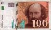 One Hundred Frances Bank Note of France.