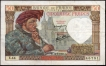 Fifty Francs Bank Note of France of 1941.