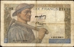 Ten Francs Bank Note of France.