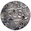 Silver One Rupee Coin of Itawa Mint of Rohilkhand Kingdom.