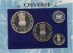 1994 Rare Proof Set of ILO World of Work of Bombay Mint.