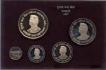 1997 Proof Set of Netaji Subhas Chandra Bose Calcutta Mint.