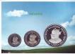 2003 Proof Set of Maharana Pratap of Mumbai Mint.