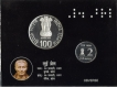 2009 Proof Set of 200th Birth Anniversary of Louis Braille.