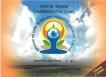 2015 Proof Set of International Day of Yoga of Mumbai Mint.