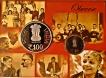 2016 Proof Set of MS Subbulakshmi of Mumbai Mint.