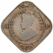 Cupro Nickel Two Annas Coin of King George V of 1919.