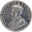 Silver Half Rupee Coin of King George V of 1928.