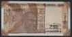 Error Ten Rupees Banknote Signed by Urjit R. Patel of 2018.