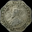 Cupro Nickel Four Annas Coin of King George V of 1920.