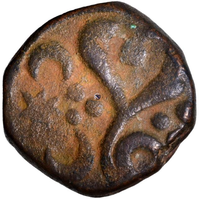 Copper One Paisa Coin of Jankoji Rao of Jawad Mint of Gwalior State.