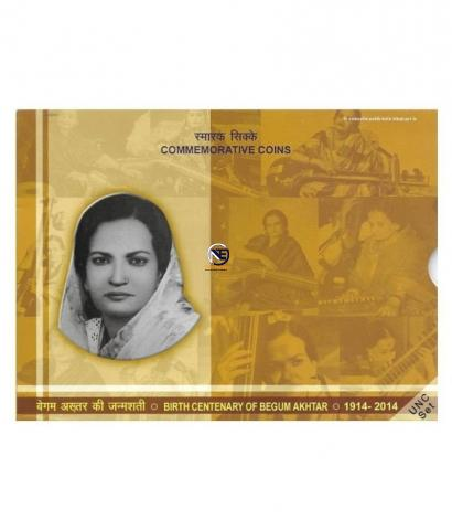 UNC Set Birth Centenary of Begum of Begum Akhtar of 2014.