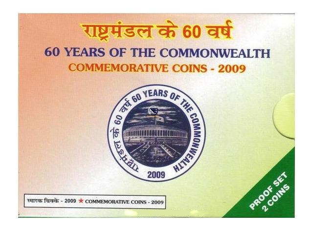 2009 Proof Set of 60 Years of the Commonwealth.